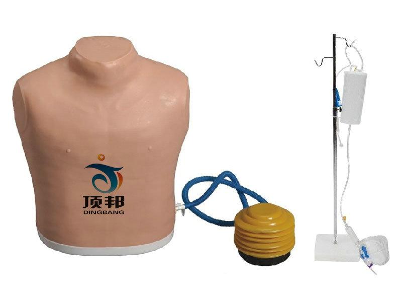 气胸护理模型