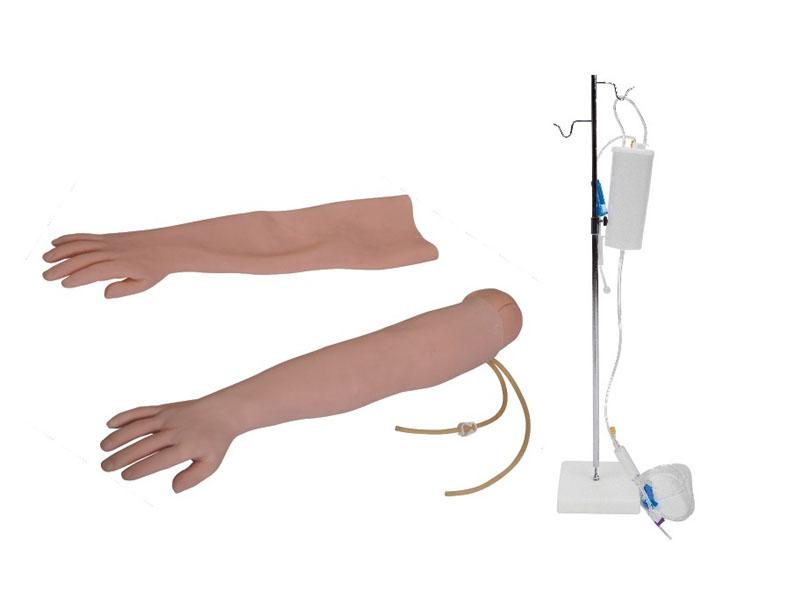 高级手臂静脉穿刺及肌肉注射训练模型(可换外皮)