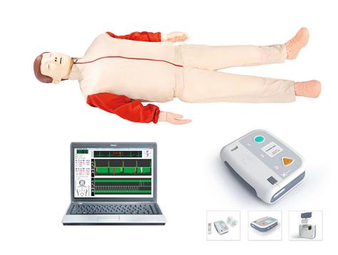 高级心肺复苏、AED除颤模拟人(心肺复苏、除颤)